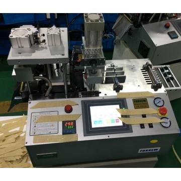 Automatic Angle Ribbon Cutter with Punching Hole