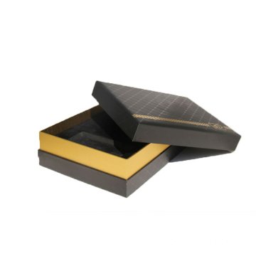 Cardboard Paper Perfume Packaging Box With EVA Insert