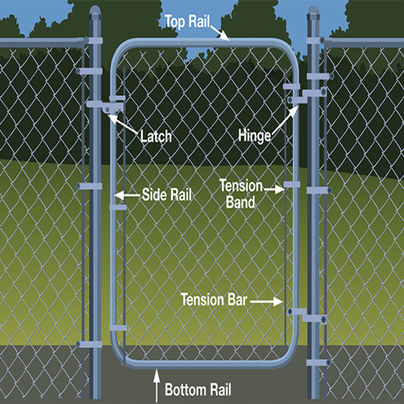 chain link fence 04