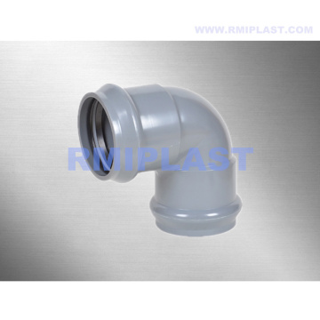 PVC Fitting With Rubber Ring 90 Degree Elbow
