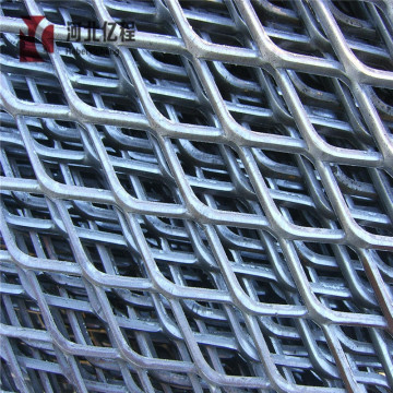 Silver roll type Stainless steel expanded metal mesh