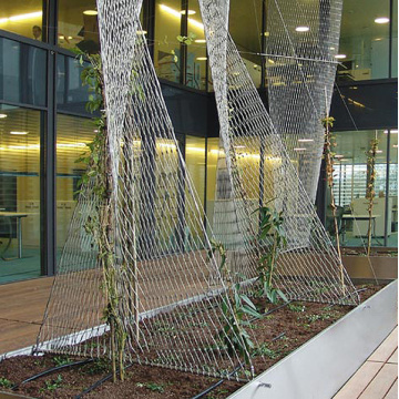 Stainless Steel Architectural Flexible X-tend rope mesh