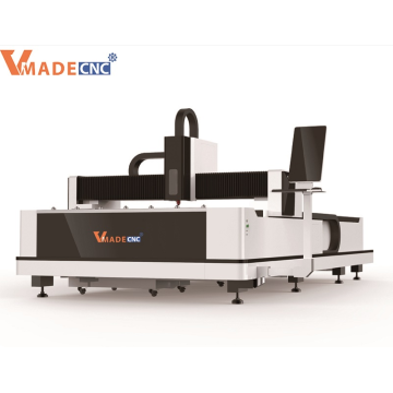 1KW 1500W Metal Fiber Laser Cutting Machine