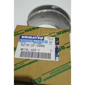6210-32-3040 connecting rod metal bearing Komatsu D275