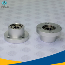 Flange Round Housing Bearings with Housings , Double Bearings, positioning and insert type, Mask machine accessories