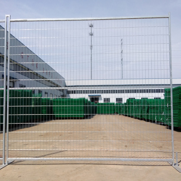 Hot-Dipped Galvanized Temporary fence for Canada