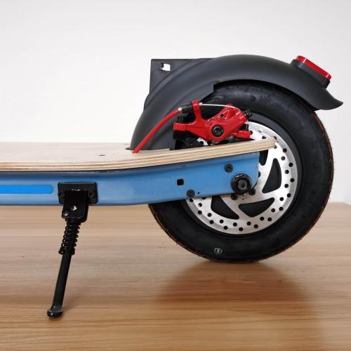 Custom Folded Blue Maple Adult Electric Scooters