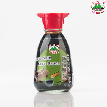 Less Salt Soya Sauce 150ml Table Bottle