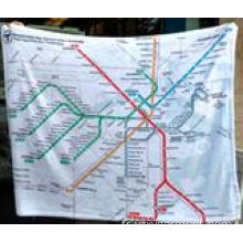 Couverture polaire micropolaire Metro Map du pays