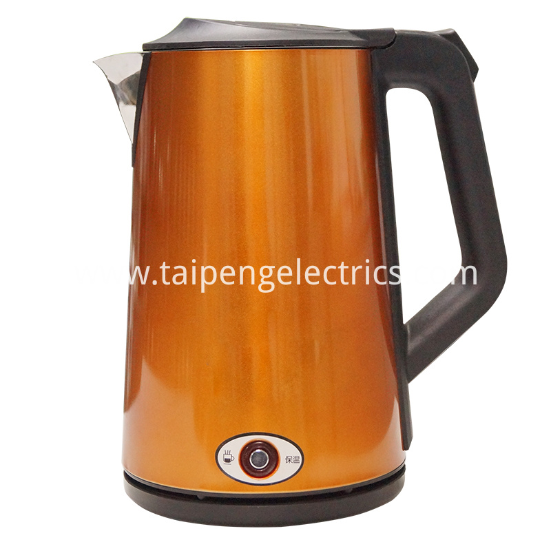 Abby 2017/9/30 11:52:07 Cool touch keep warm electric kettle 2017