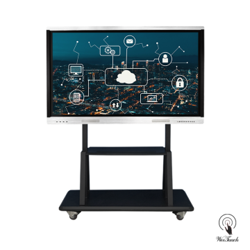 65 Inches 4K Multi-touch Screen with mobile stand