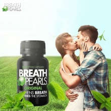 Australia Natural Peppermint Flavour Long Lasting Kiss Fresh Breath Pearls FRESHENER Fight Bad Breath No sugar Soothe Stomach