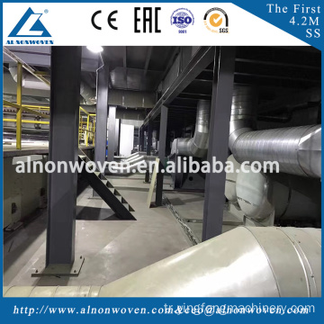 2.4m SSS PP Non Woven Fabric Making Machine With High Quality