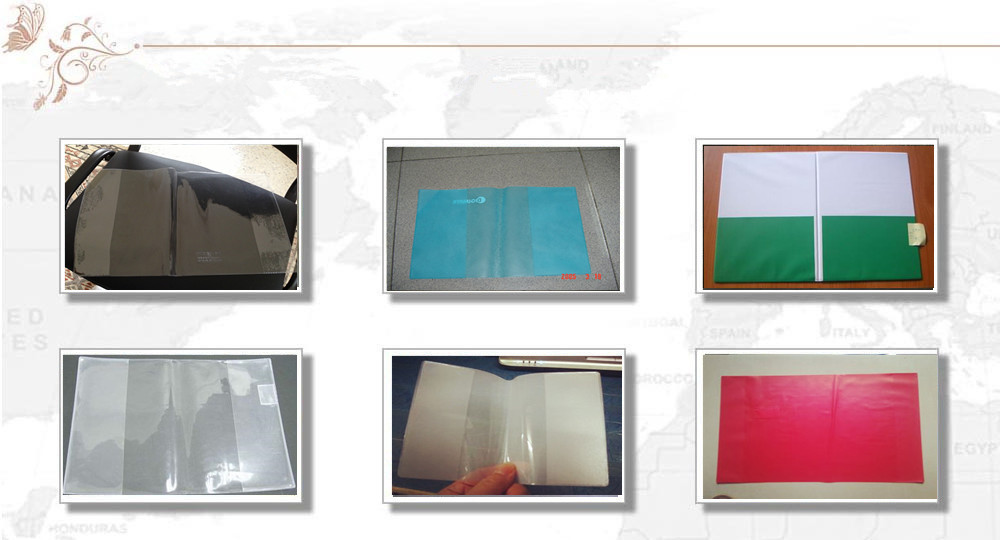 book plastic cover making machine