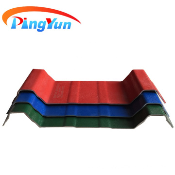 Heat insulated UPVC roof sheet for factory