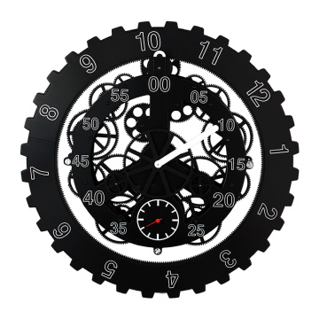 18 Inch Large Hanging Gear Wall Clock