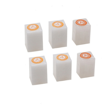 6 blocks Deer Brand Refined Camphor Tablets/blocks Moth SIlverfish Avoid Pure Toilet Household Wardrobe Insect Repellent