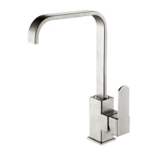 Double function nozzle high arc single rod faucet