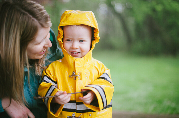 5 Key Steps When Buying One Raincoat for Children