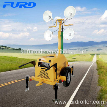 7M Manual Lifting Telescopic Light Tower 4000w