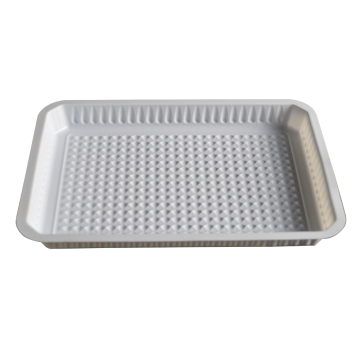 medical embossed vacuum white plastic blister tray