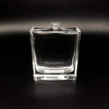 100ml clear square spray glass perfume bottle