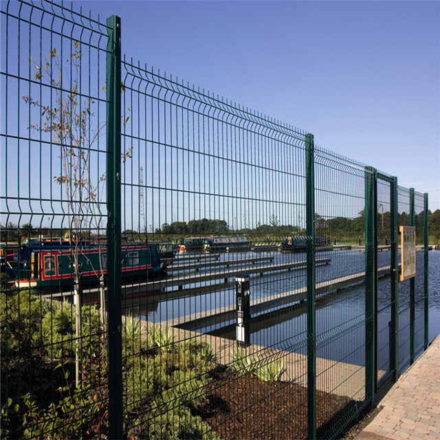 Cheap Curved Sheet Metal Wire Mesh Fencing