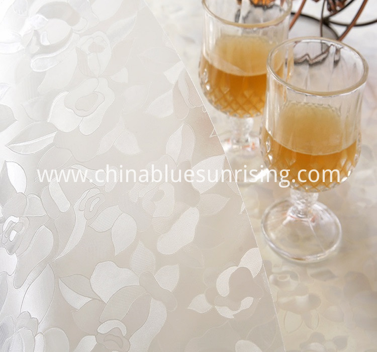 Custom Pvc Table Protector Table Cloth