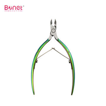 Professional Stainless Steel Cuticle Nippers for Fingernails