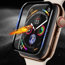 3D Edge HD Tempered Glass for Apple Watch Series 3 2 1 38MM 42MM Screen Protector film for iWatch 4/5/6/SE 40MM 44MM Full glue