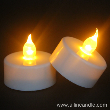Flickering Battery Powered Flameless LED Tea Light Candles