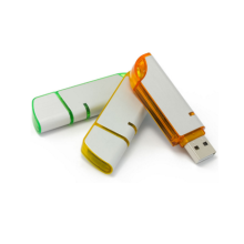 Unità flash USB in plastica e metallo