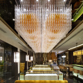 Classic customized restaurant lobby crystal chandelier
