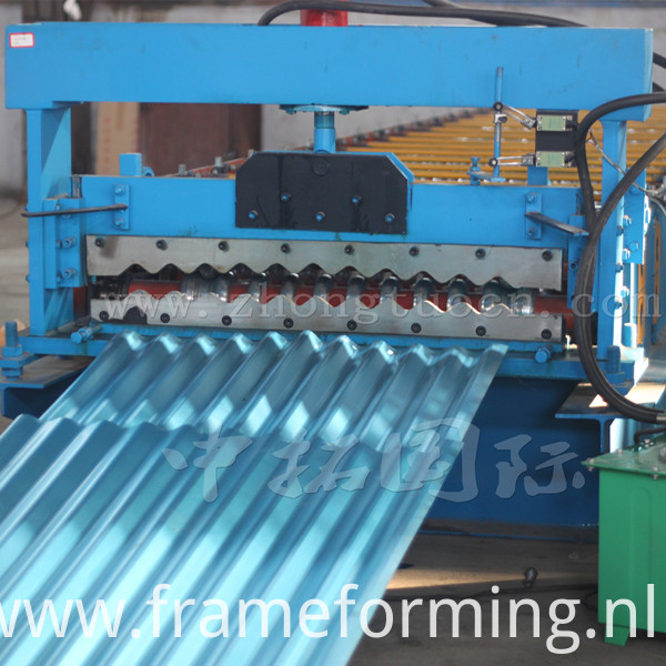 Corrugated board roll forming machine (8)