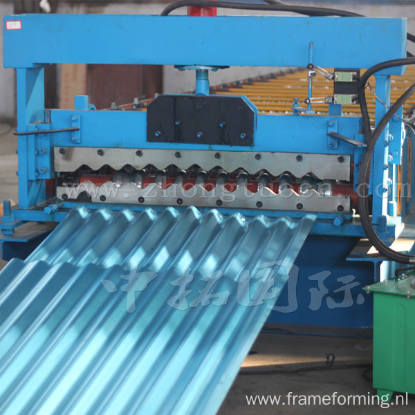 Corrugated Steel Roof Panel Roll Forming Machiner
