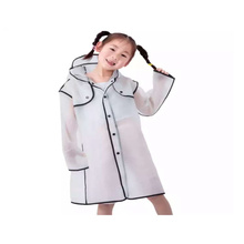 Transparent Rain coat  for child