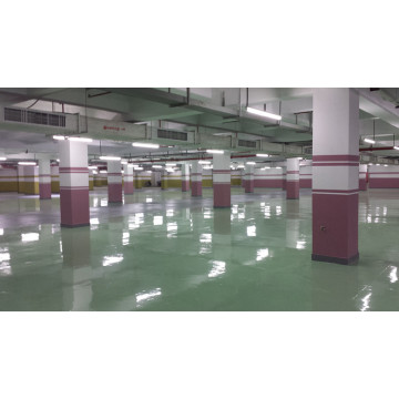 Grass green waterborne epoxy floor paint