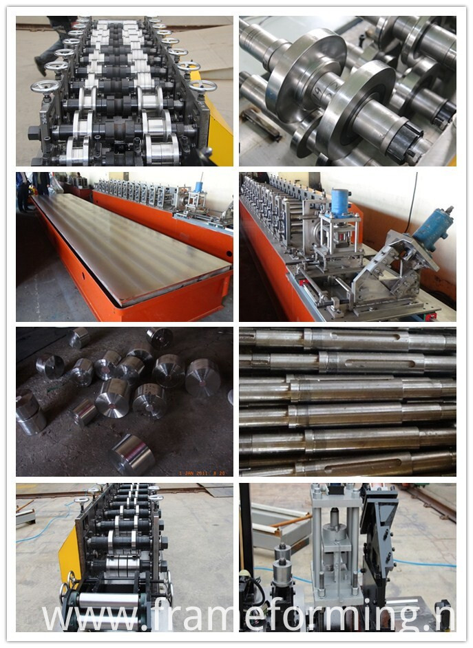 elements of rolling forming machine