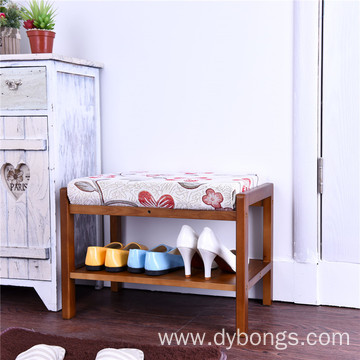 Print stool modern furniture new fashion shoes footstool