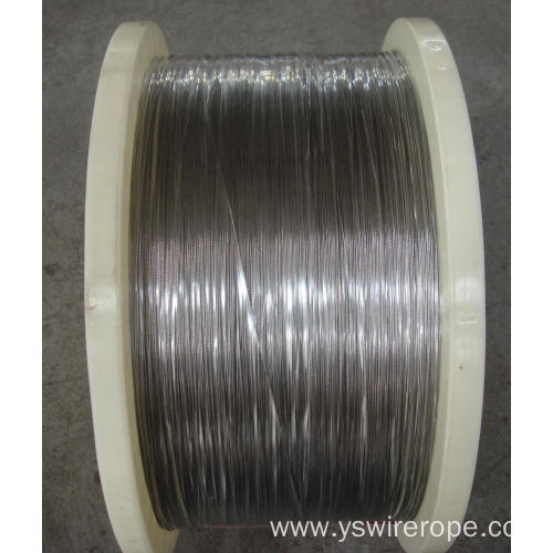 316 stainless steel wire rope 1x7 1.5mm