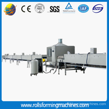 Stone Coated Metal Roofing Tile Machine