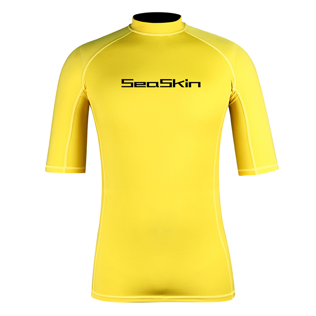 Seaskin Mens UPF50+ Surf Rashguard
