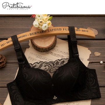 Wholesale women sexy transparent lace bra