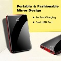 Vendita calda 2 Usb Mobile Power Bank 5000mAh