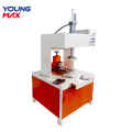 Round disc edge trimming machine aluminium crimping machine