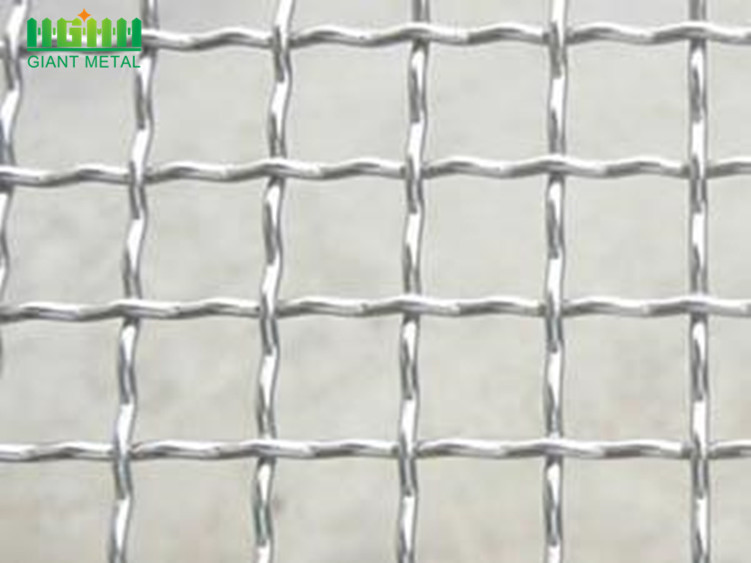 High Quality Stainless Steel Crimped Wire Mesh