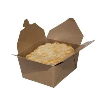 Natural Kraft Paper Food Boxes for Carry-Out