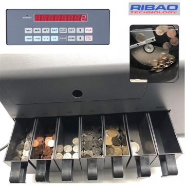 Coin counter and Sorter for GBP
