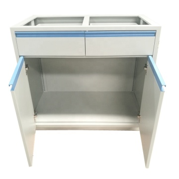 Steel Medical Ward Bedside Storage Cabinet