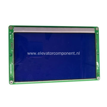 KONE Elevator Blue LCD Display Board KM51104212G01